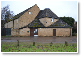 Kings Cliffe Village Hall where KCP perform